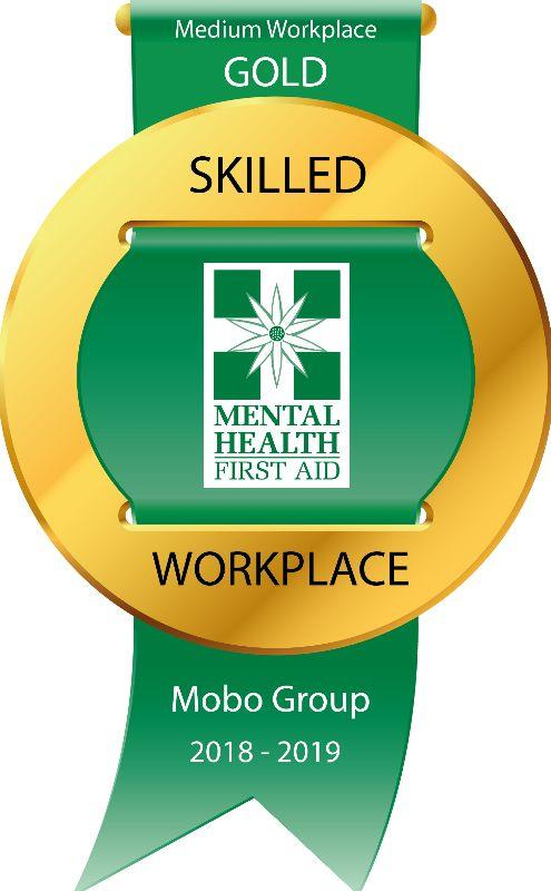 Recognition for our initiatives around mental health