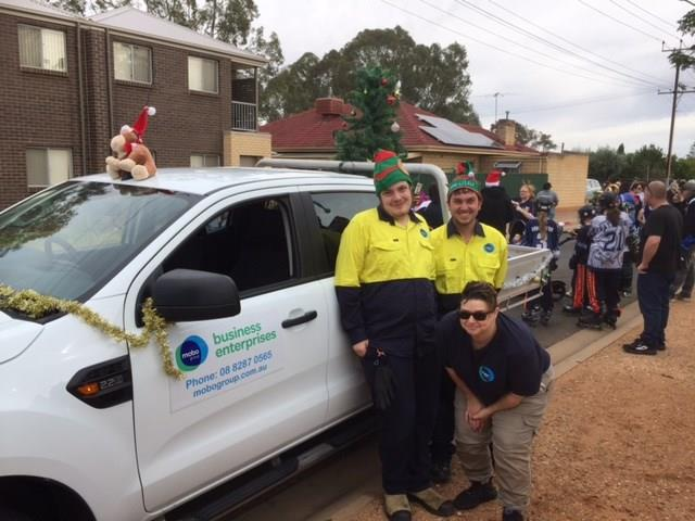 Mobo Group at the Playford Christmas Pageant