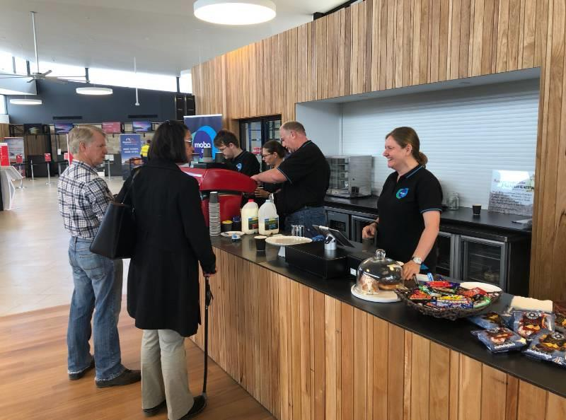 Our brand new Kingscote Airport Cafe