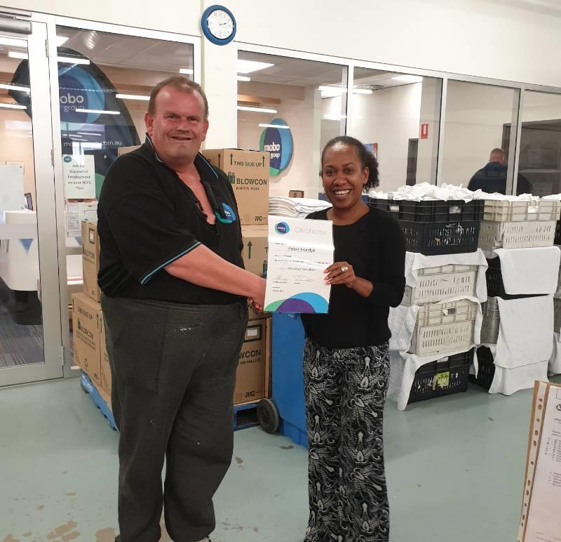 Our first Supported Employee Awards & Fun Day