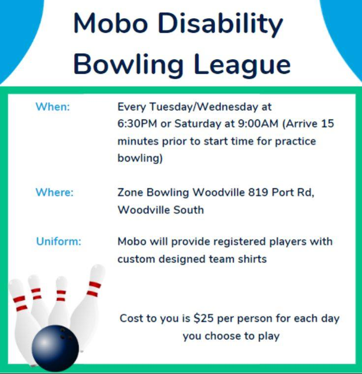 Mobo Disability Bowling League
