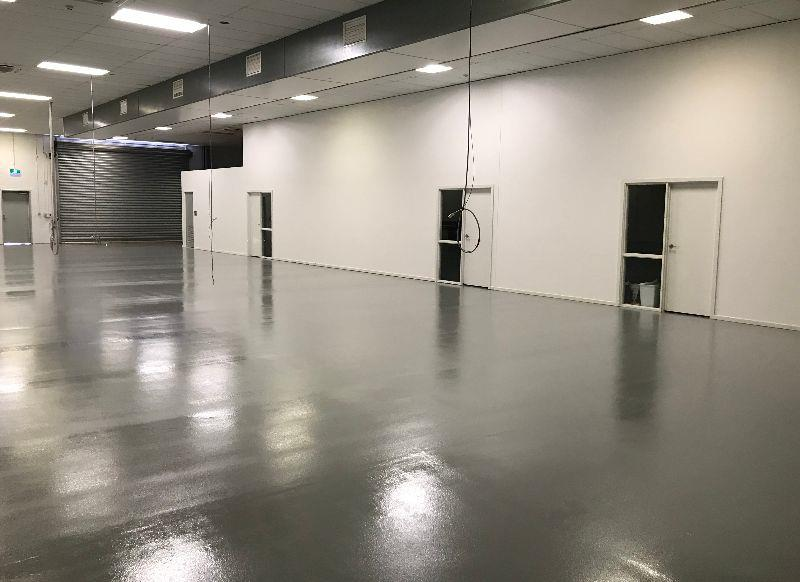 Check out the new floors!