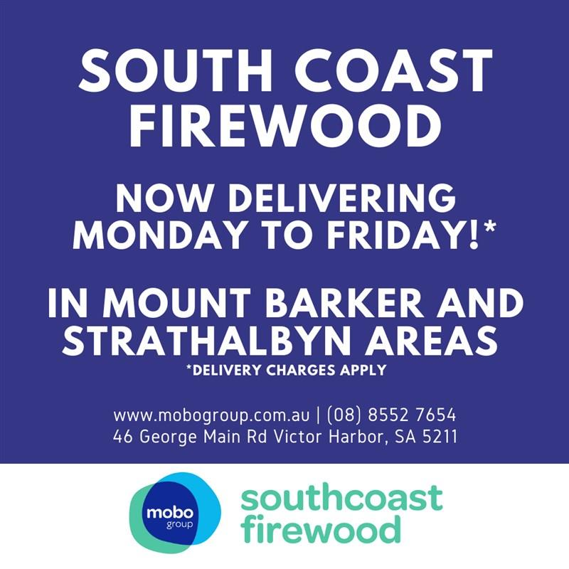 South Coast Firewood is now delivering!